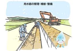 用水路の管理・補修・整備